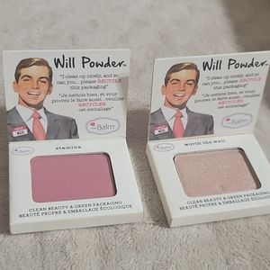 Pair of The Balm Will Power Blush